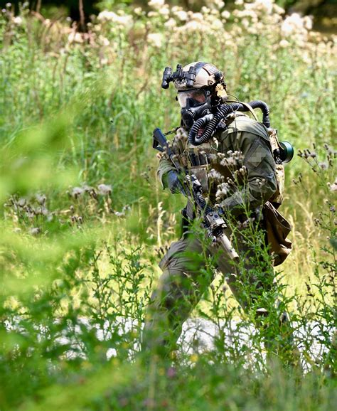 US Special Forces during CBRN (Chemical, Biological
