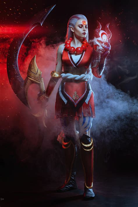 Lina Aster photography - Blood Moon Diana, League of Legends