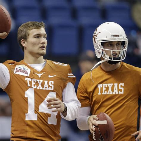 Texas Football: What's Going on with David Ash?   Bleacher