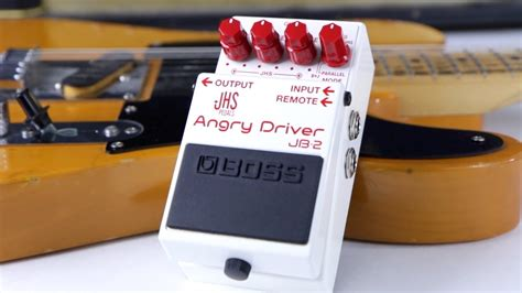 Boss JHS Pedals Angry Driver JB-2 - YouTube