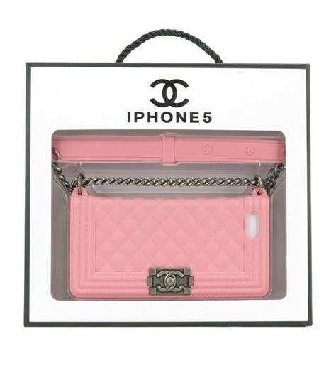This Chanel Inspired Boy Bag Clutch Case is one of kind