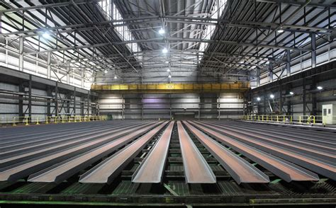 Dinwiddie mill makes half million tons of steel annually