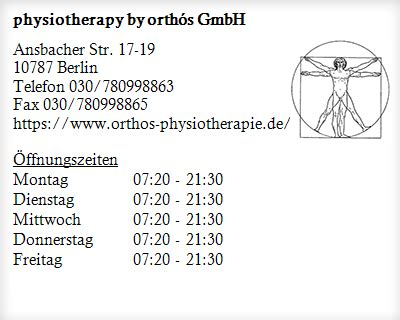 physiotherapy by orthós GmbH Physiologen