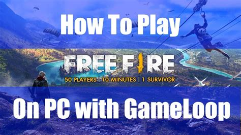 How To Play And Download Garena Free Fire On PC Mouse and