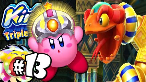 Kirby Triple Deluxe: BOSS Coily Rattler Crash Copy World 4