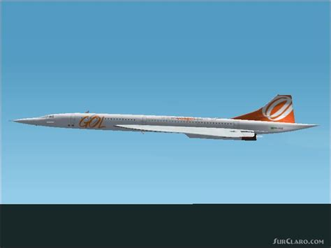FS2004 VARIG LIVERY PROJECT MACH2 CONCORDE GUSTAVO M Airliners