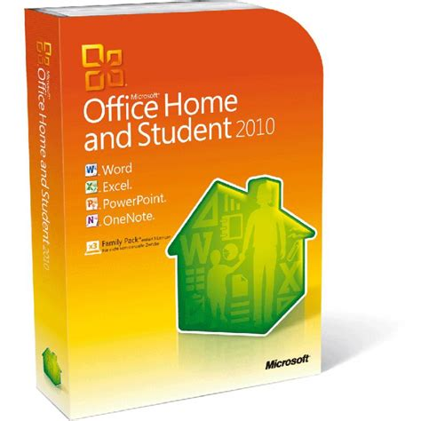 Microsoft Office 2010 Home and Student 1 PC, Box-Pack