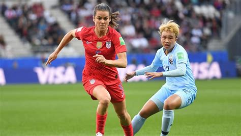 USA-Thailand Women's World Cup Match Scores Ratings Gold