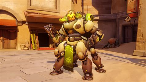 Overwatch's New Character Is A Robot Named Orisa - GameSpot